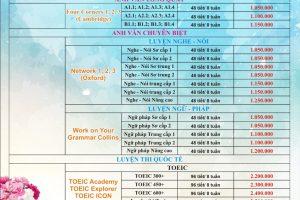 Chương trình học chi nhánh 6