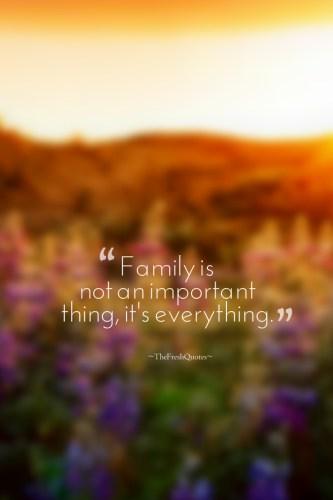 Những câu nói hay bằng Tiếng Anh về gia đình 04
