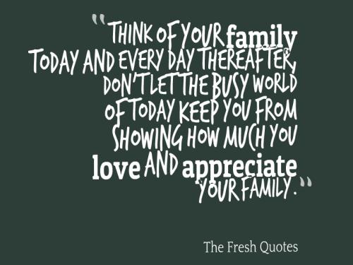 Những câu nói hay bằng Tiếng Anh về gia đình 11