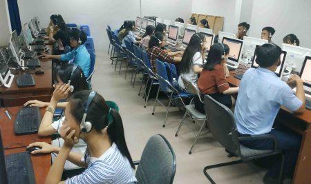Khai giảng khóa 36 và thi thử trên máy tính tại Chi nhánh 6